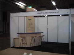 houten stand 12 m2